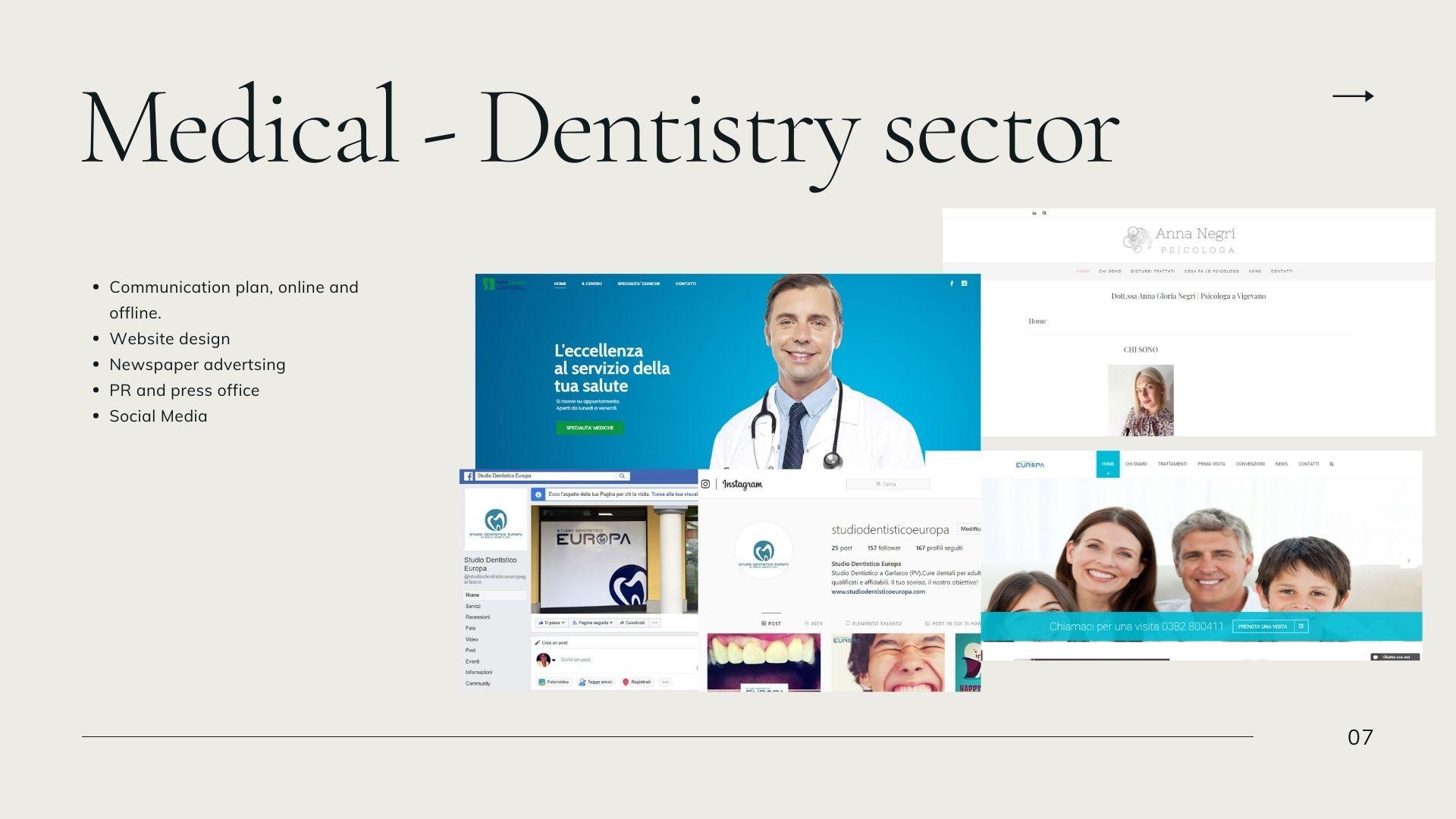 Medical – Dentistry